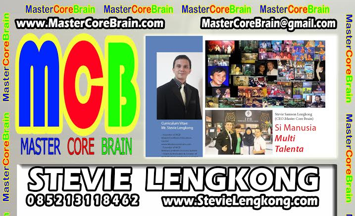 Kartu Nama Stevie MCB pakai foto