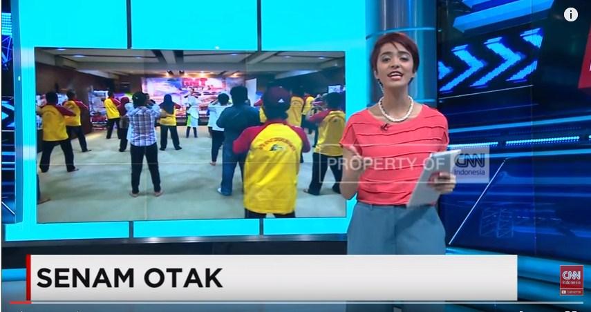 CNN Trans TV Motivator Trainer Senam Otak Senam Pintar Stevie Lengkong