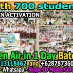 700 peserta Aktivasi Otak Juara MCB di Lapangan Upacara