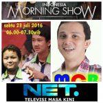INDONESIA MORNING SHOW NET TV  Motivator HARI ANAK NASIONAL 23 JULI  Master Stevie Lengkong Samuel Lengkong Kenneth Lengkong